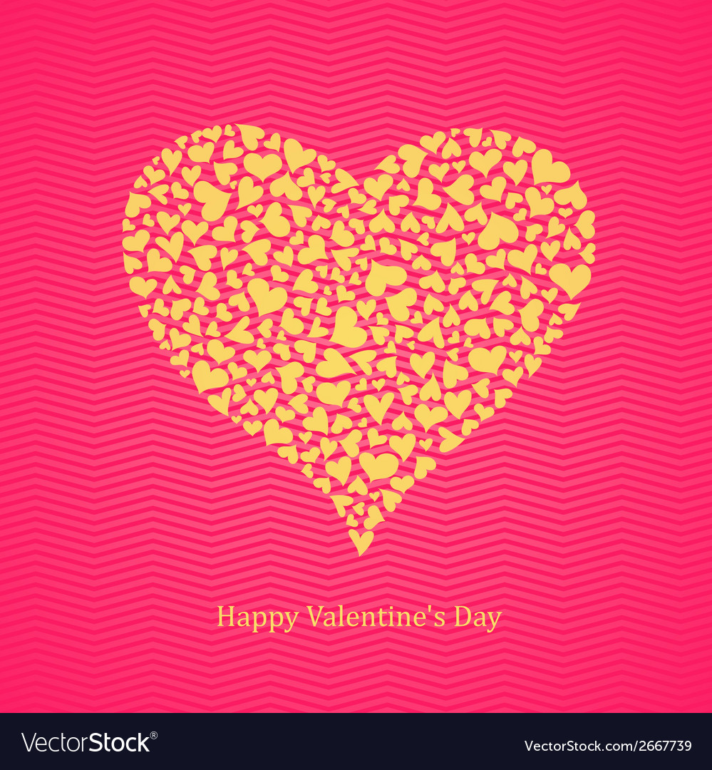 Happy valentines day lettering vector | Price: 1 Credit (USD $1)