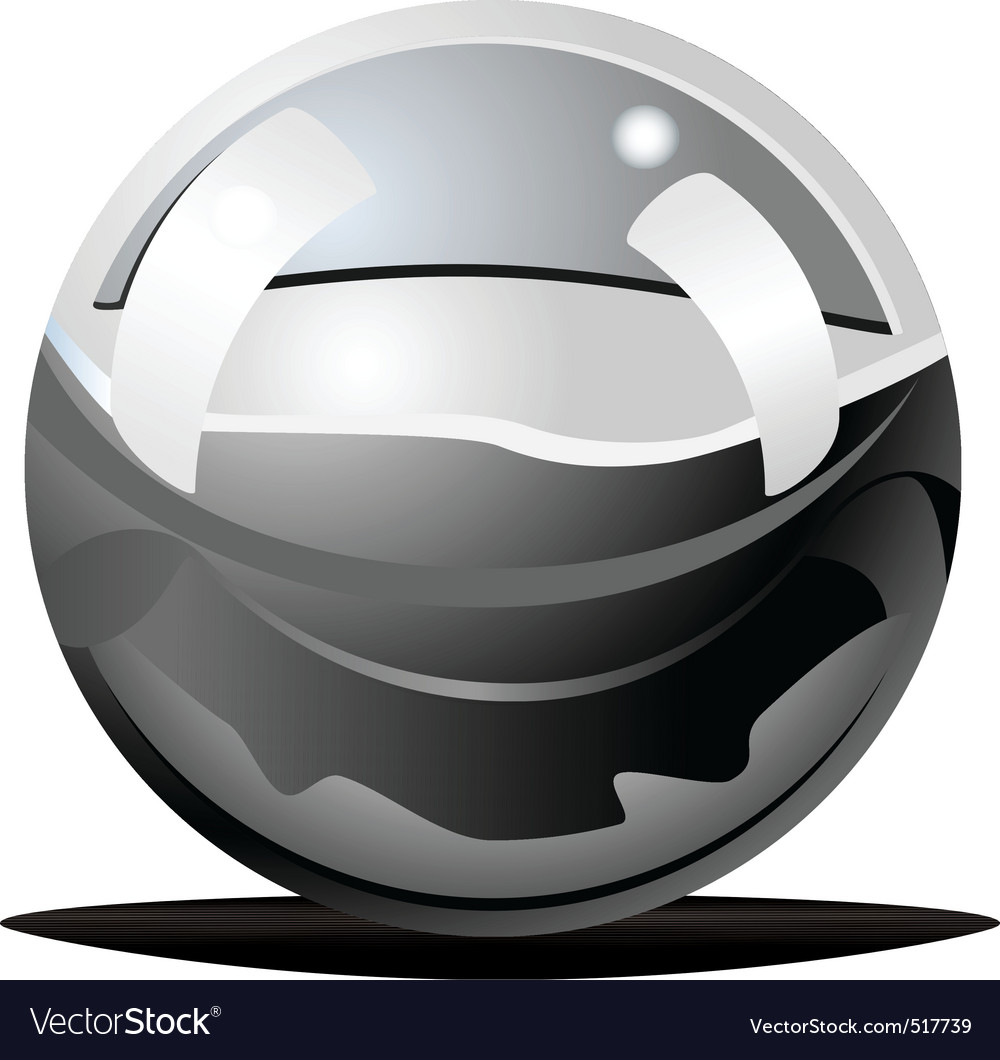 Stainless ball vector | Price: 1 Credit (USD $1)