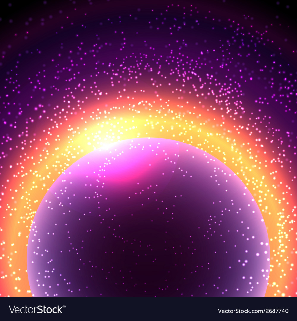 Abstract space vector | Price: 1 Credit (USD $1)