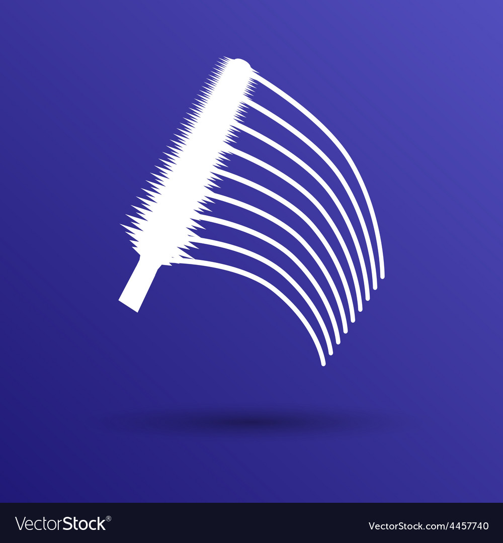 Collection of a mascara shapes each one is shot vector | Price: 1 Credit (USD $1)