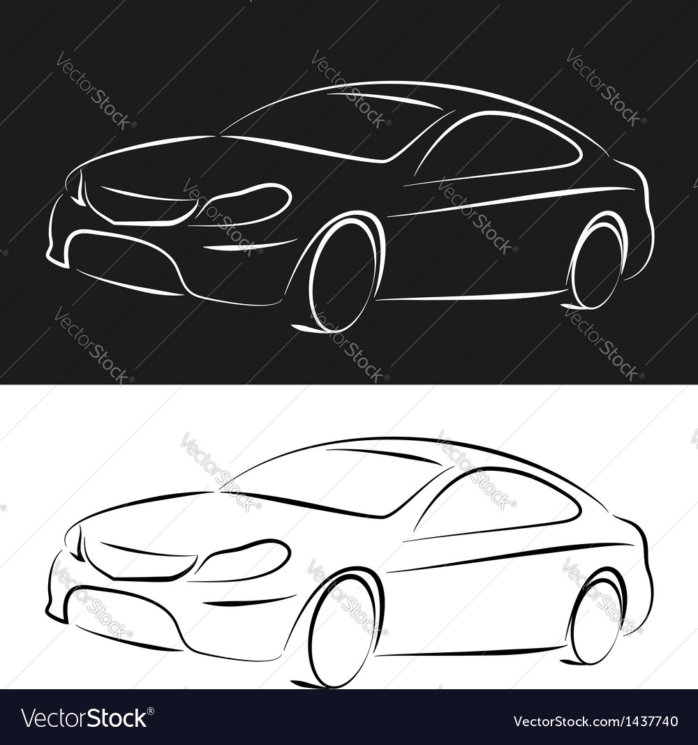 Silhouette cars vector | Price: 1 Credit (USD $1)