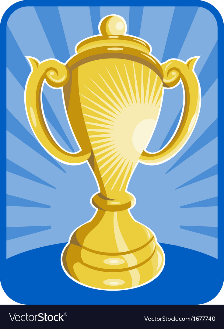 Trophy championship cup vector | Price: 1 Credit (USD $1)
