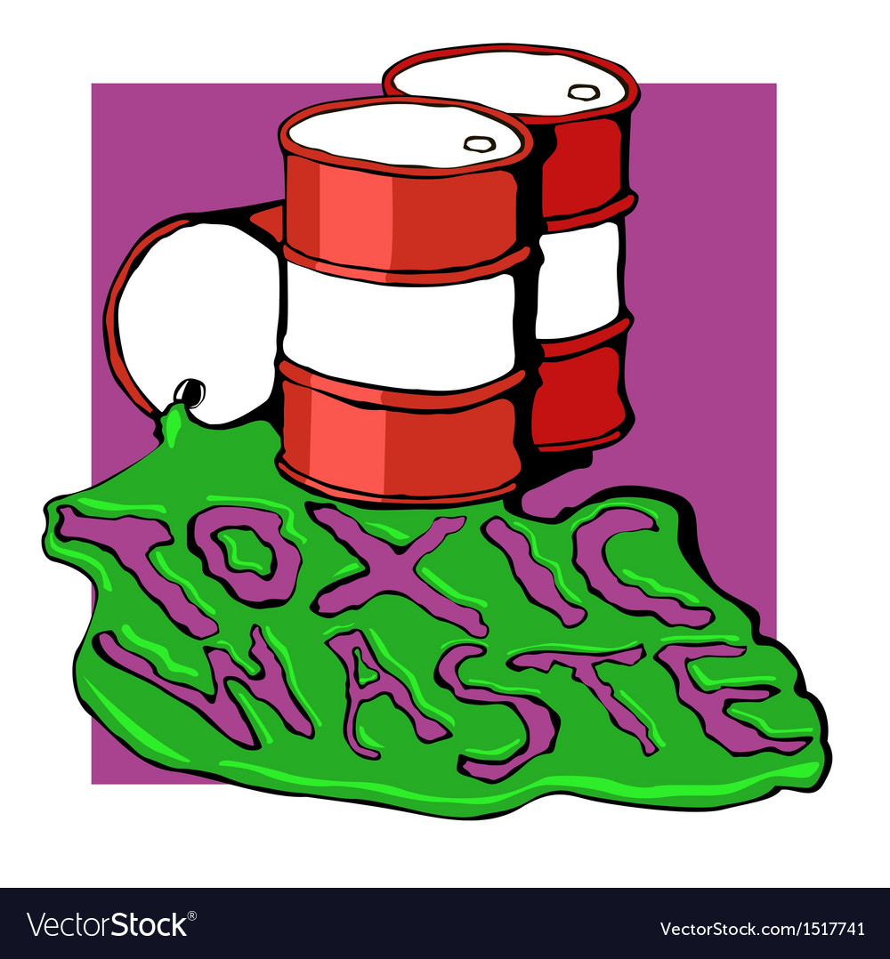 Barrels of toxic waste vector | Price: 1 Credit (USD $1)
