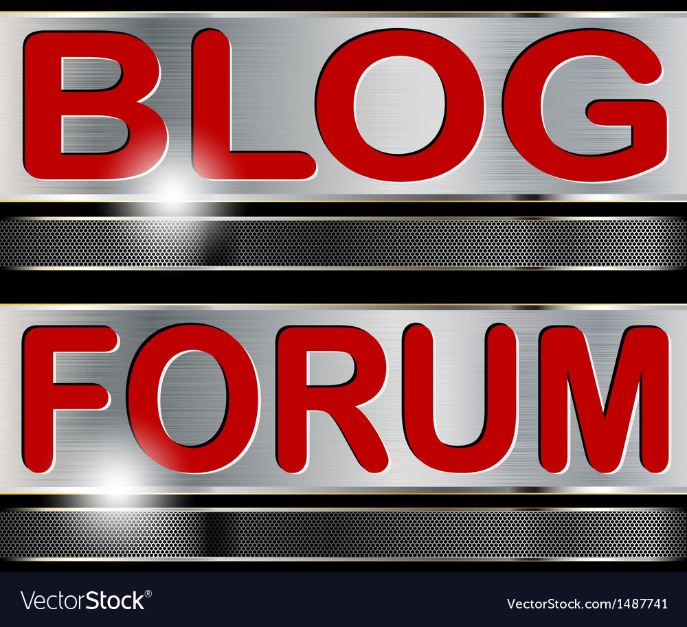 Forum blog vector | Price: 1 Credit (USD $1)