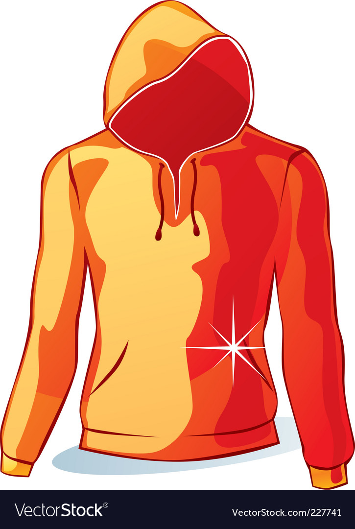 Isolated hoodies vector | Price: 1 Credit (USD $1)