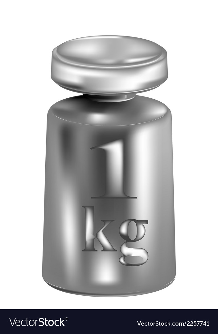 Kilogram vector | Price: 1 Credit (USD $1)