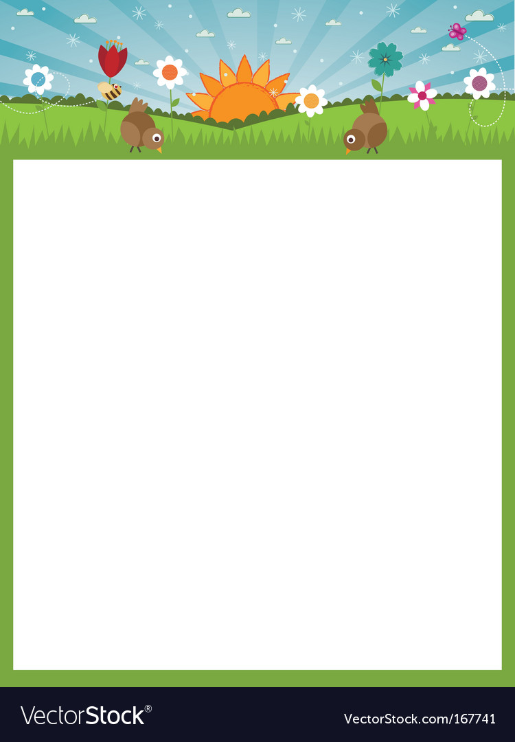 Nature poster vector | Price: 1 Credit (USD $1)