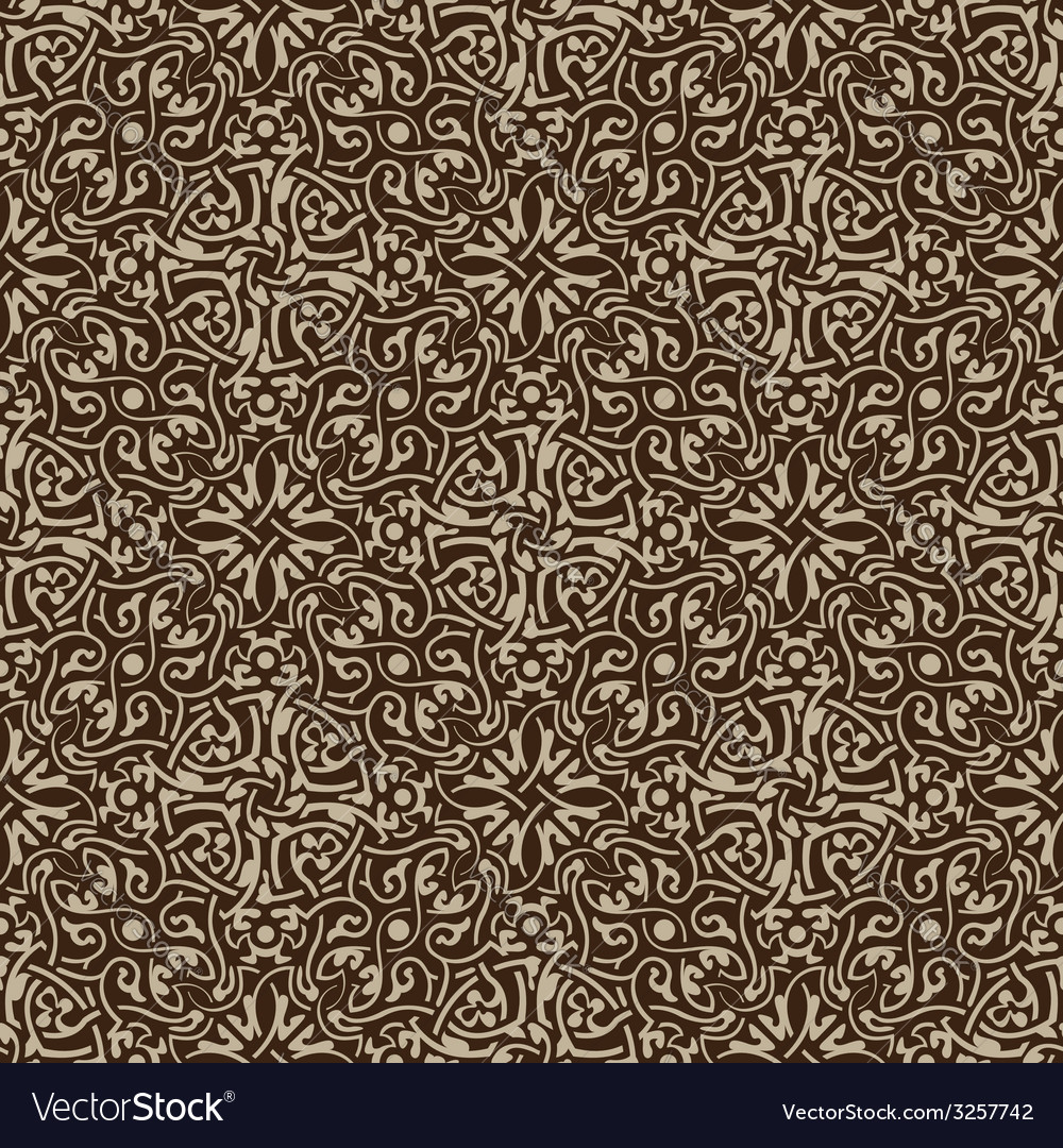 Brown seamless pattern vector   Price: 1 Credit (USD $1)