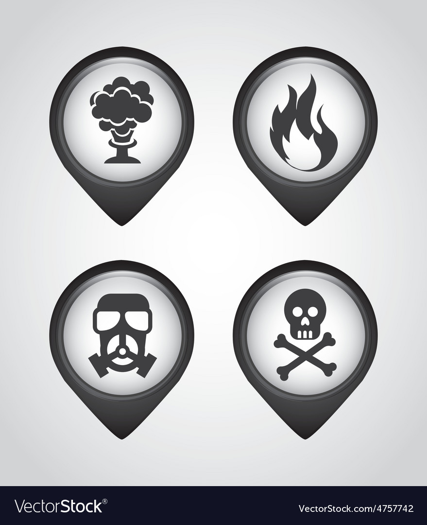 Caution icons vector   Price: 1 Credit (USD $1)