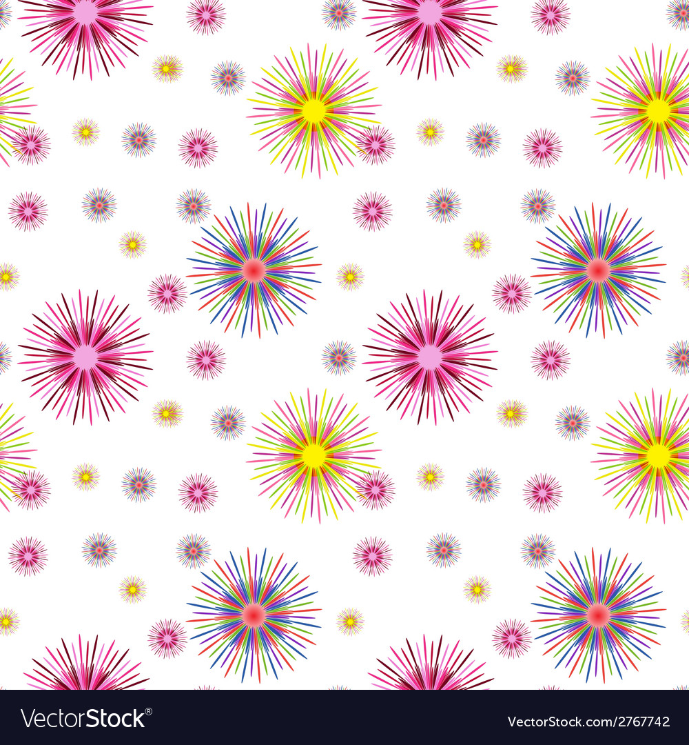 Colorful abstract art psychedelic background vector | Price: 1 Credit (USD $1)