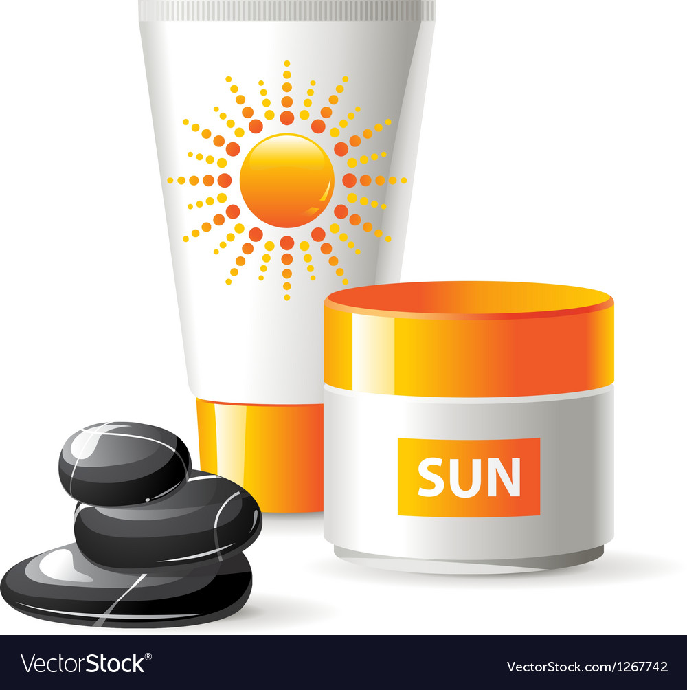 Sun care vector | Price: 3 Credit (USD $3)
