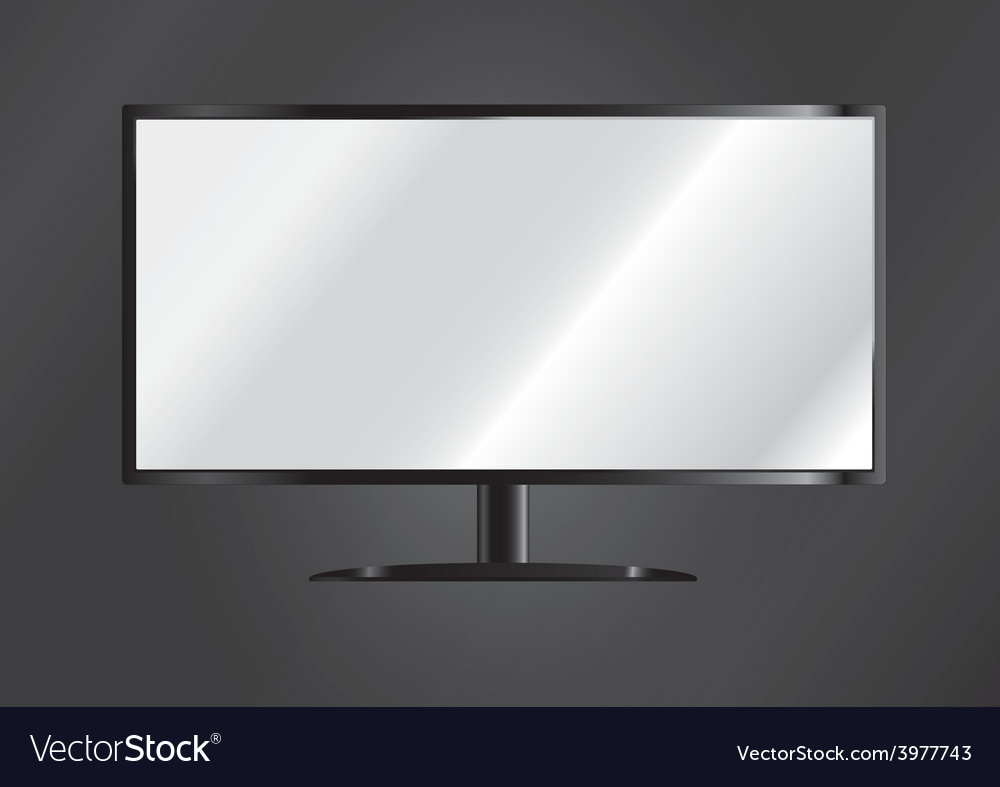Television vector | Price: 1 Credit (USD $1)