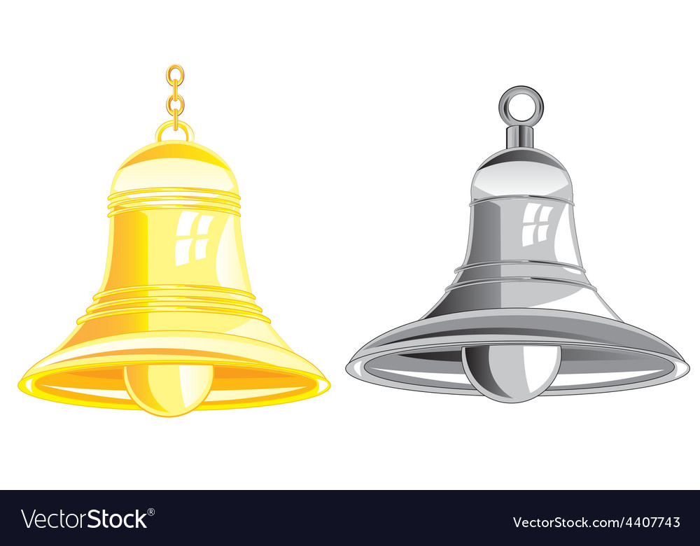 Two bells vector | Price: 1 Credit (USD $1)