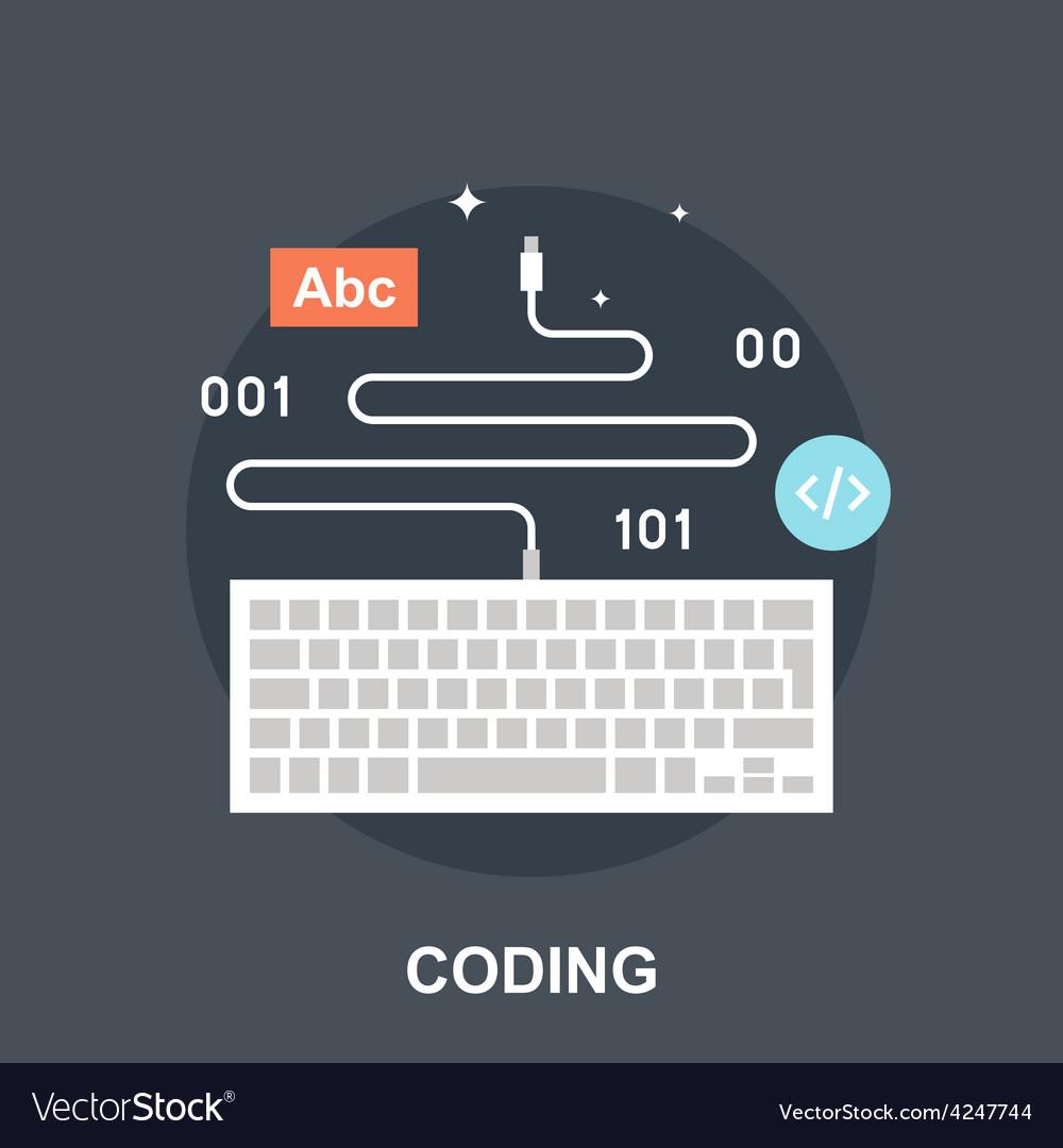 Coding vector | Price: 1 Credit (USD $1)