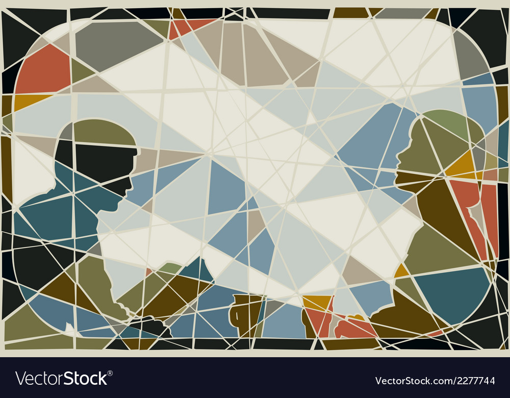 Commute mosaic vector | Price: 1 Credit (USD $1)