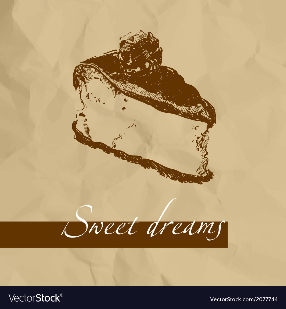 Sweet cake vector | Price: 1 Credit (USD $1)