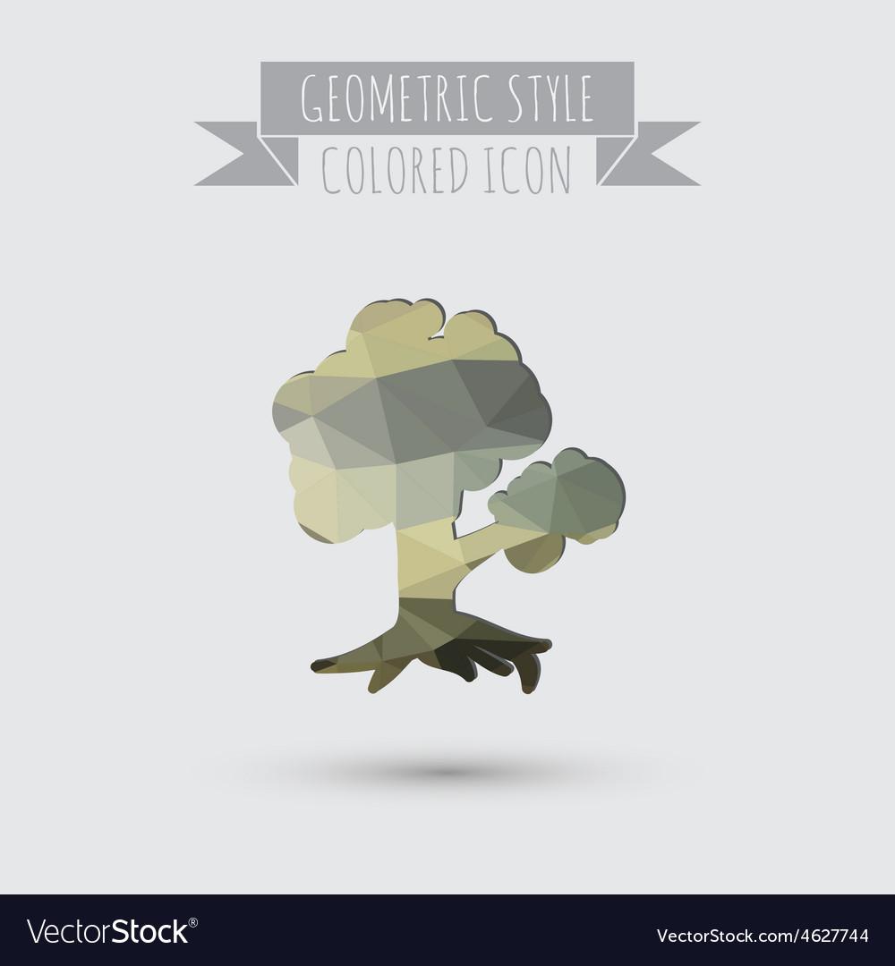 Tree symbol icon nature sign vector | Price: 1 Credit (USD $1)