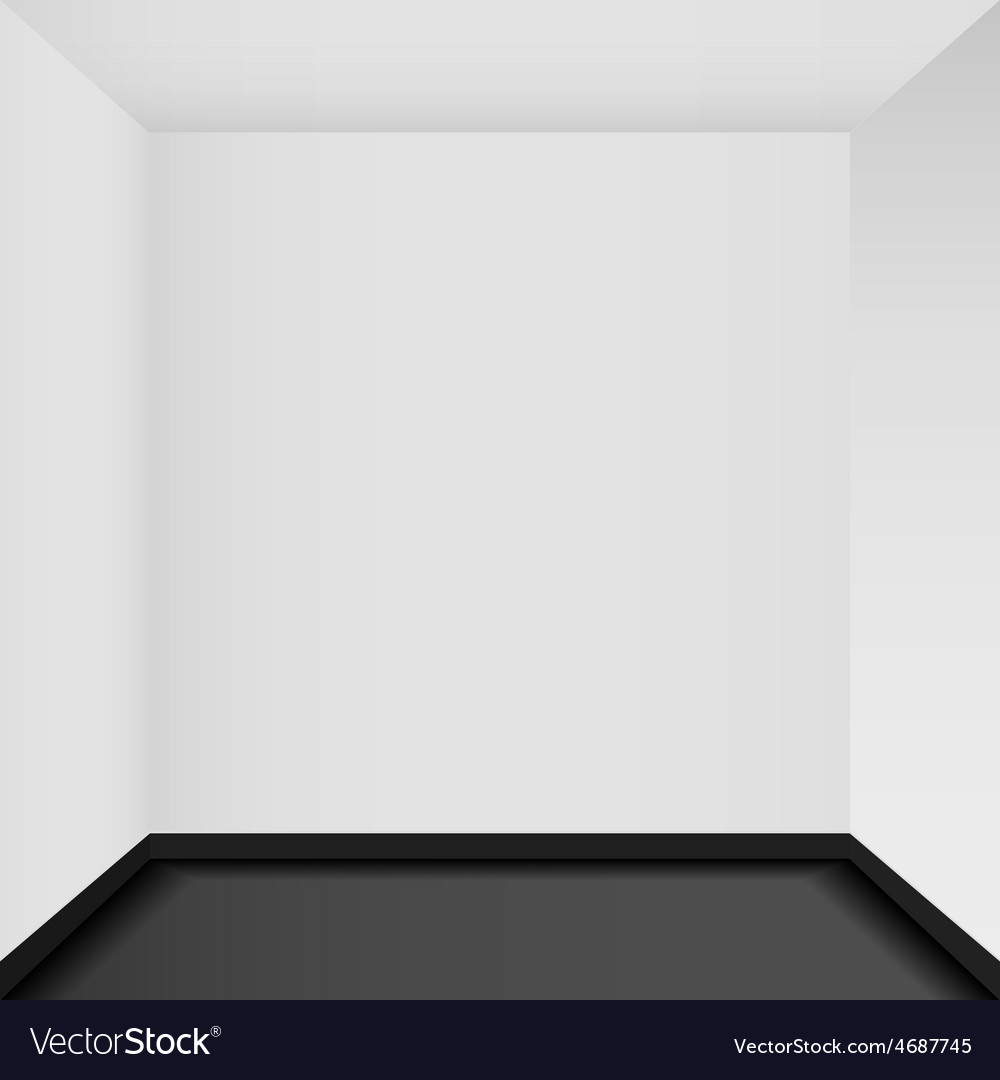 Empty corner in the room - vector | Price: 3 Credit (USD $3)