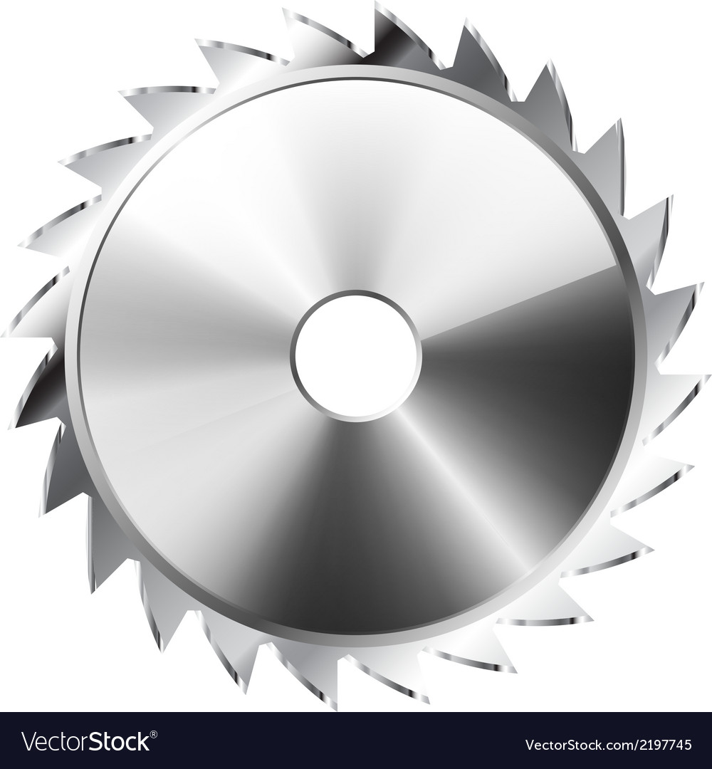 Saw blade vector | Price: 1 Credit (USD $1)