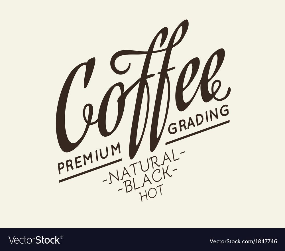 Calligraphic lettering design vector | Price: 1 Credit (USD $1)