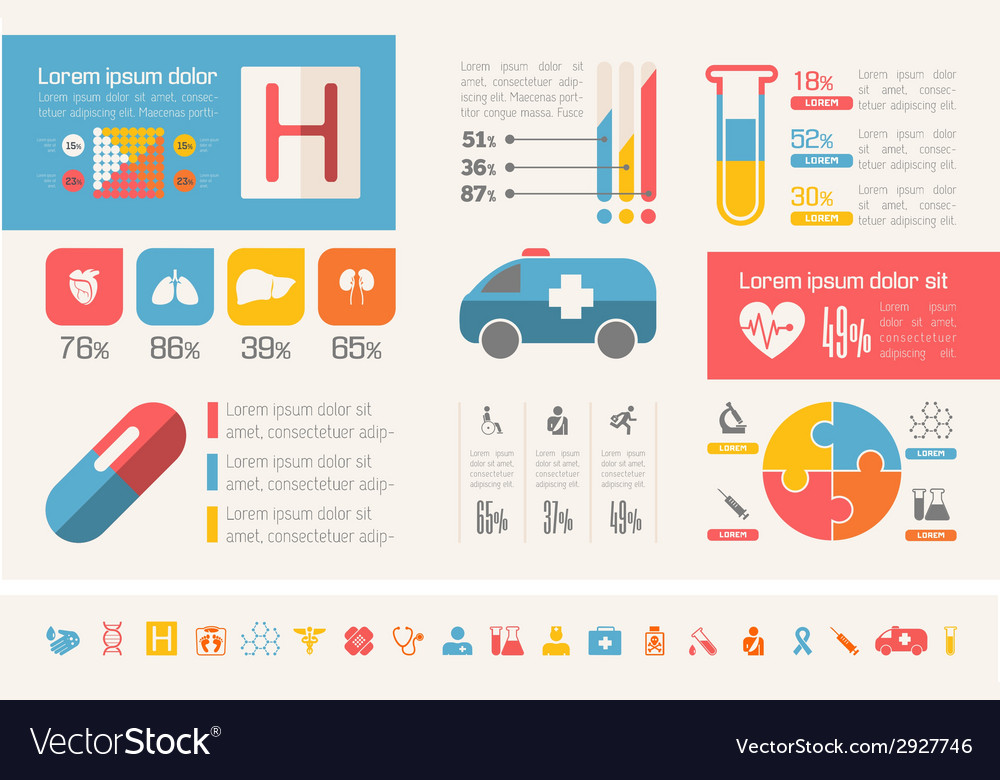 Emergency infographic template vector | Price: 1 Credit (USD $1)