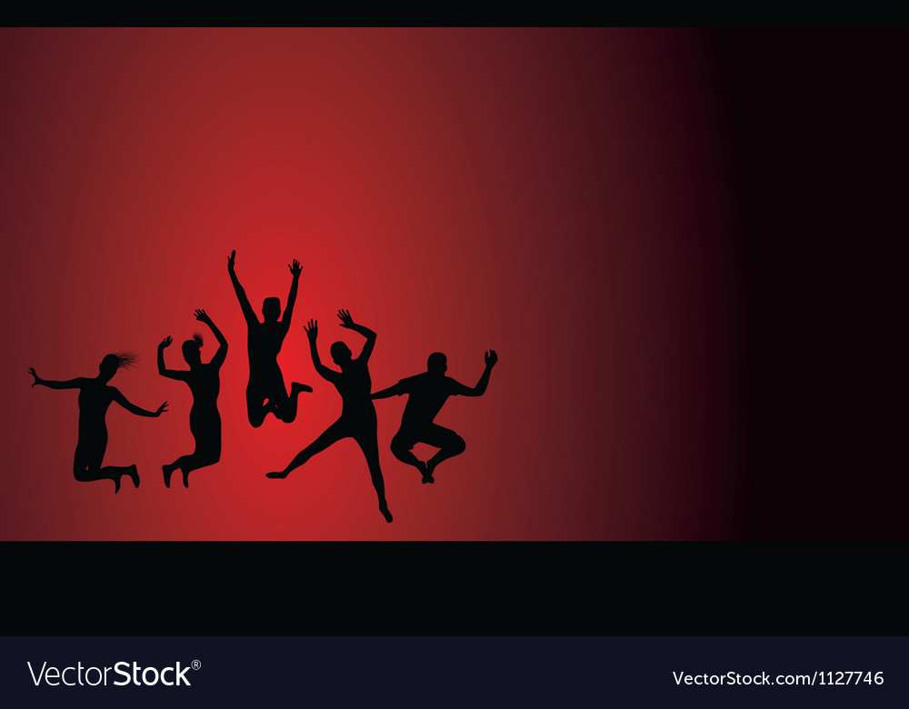 Jumping background vector   Price: 1 Credit (USD $1)