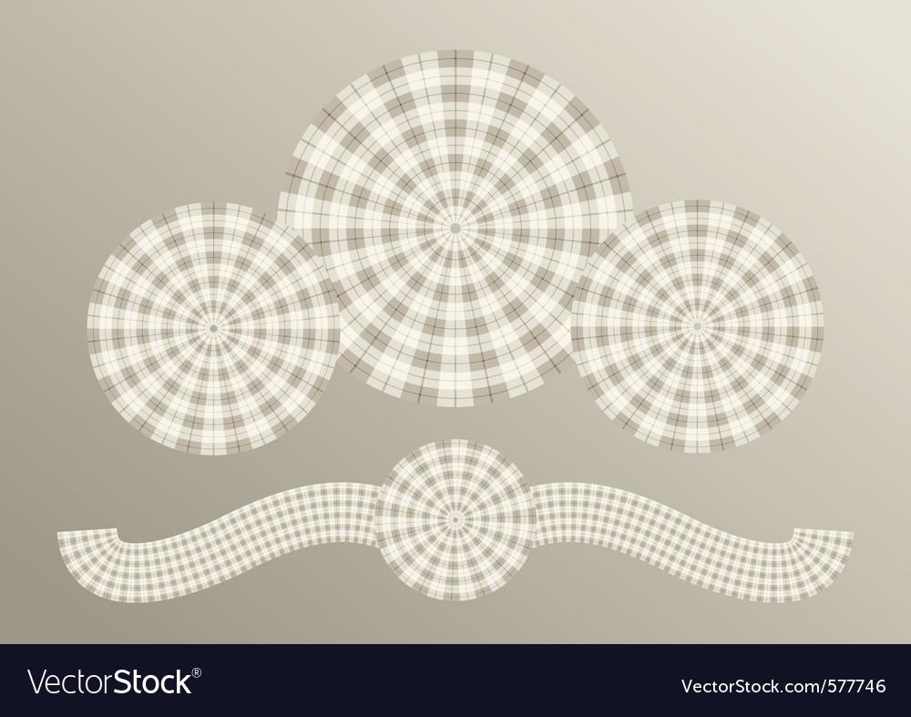 Scottish plaid concept vector | Price: 1 Credit (USD $1)