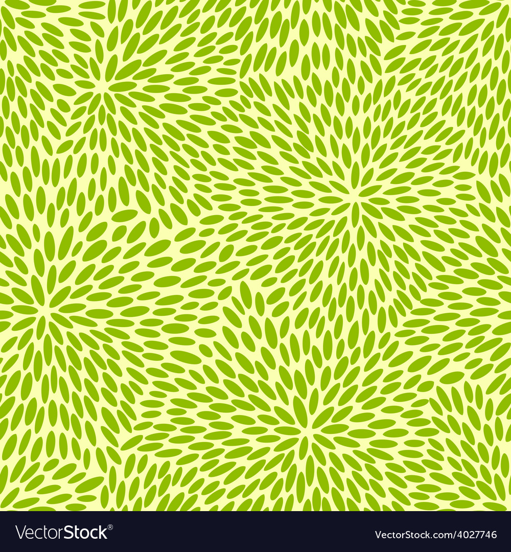 Seamless green leaves vector