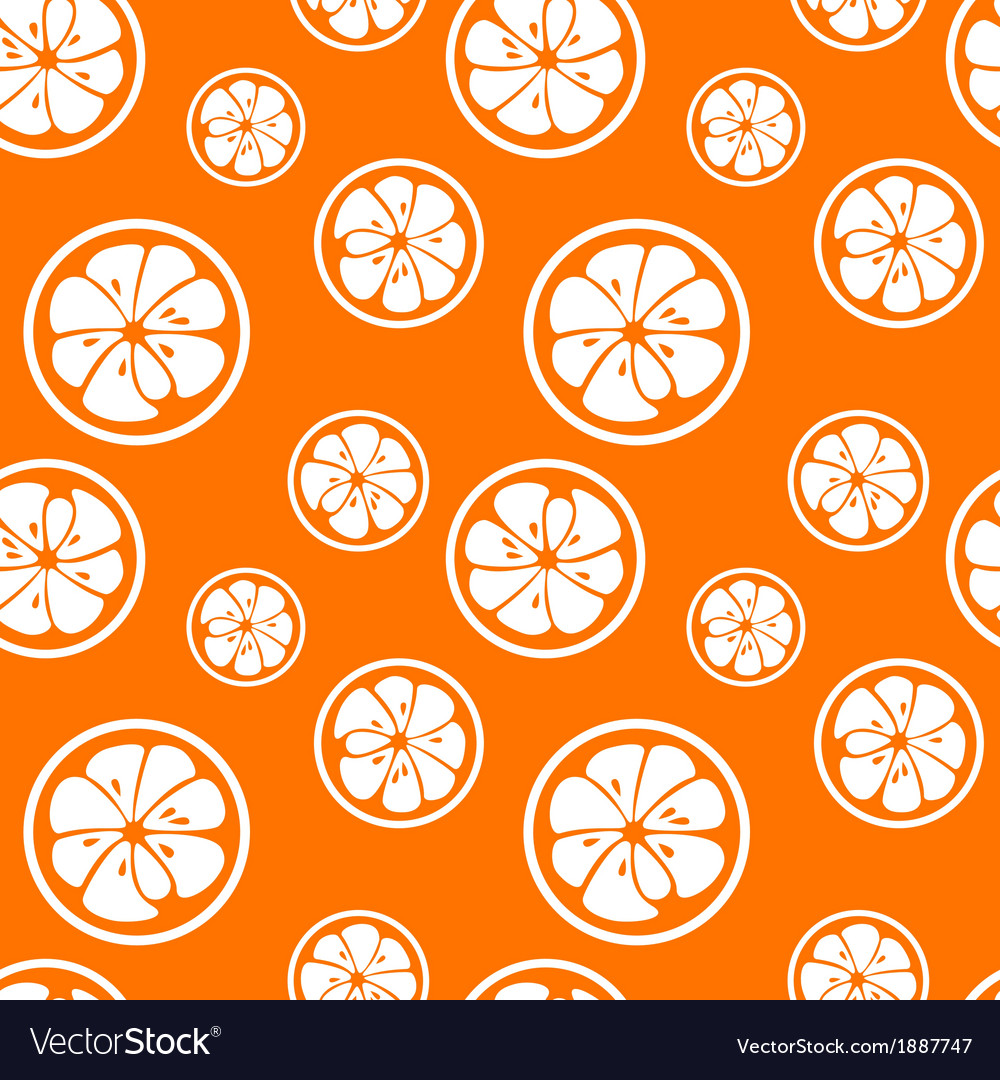 Abstract citrus fruit seamless pattern vector   Price: 1 Credit (USD $1)