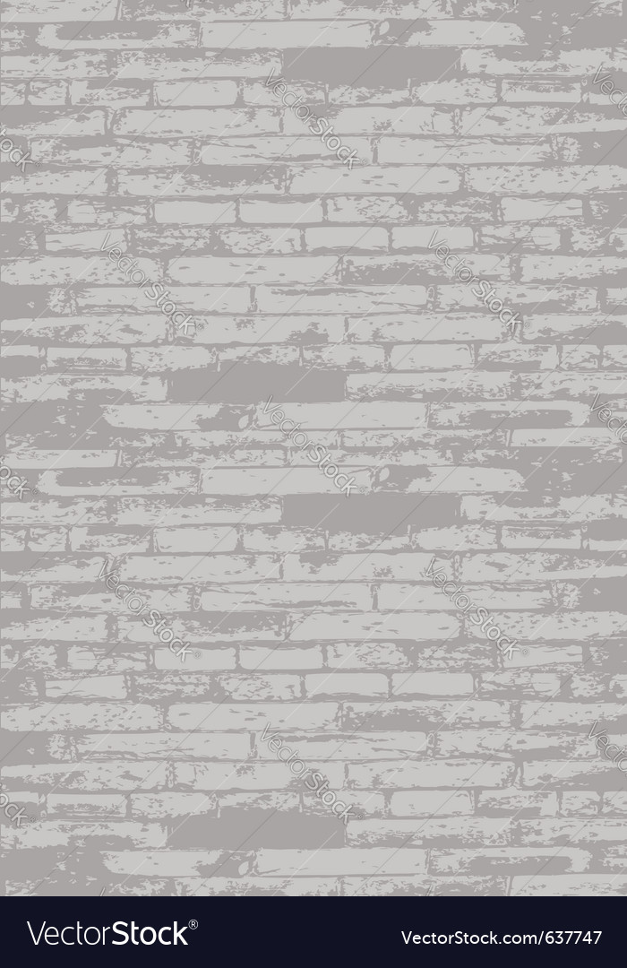 Grey brick wall vector | Price: 1 Credit (USD $1)