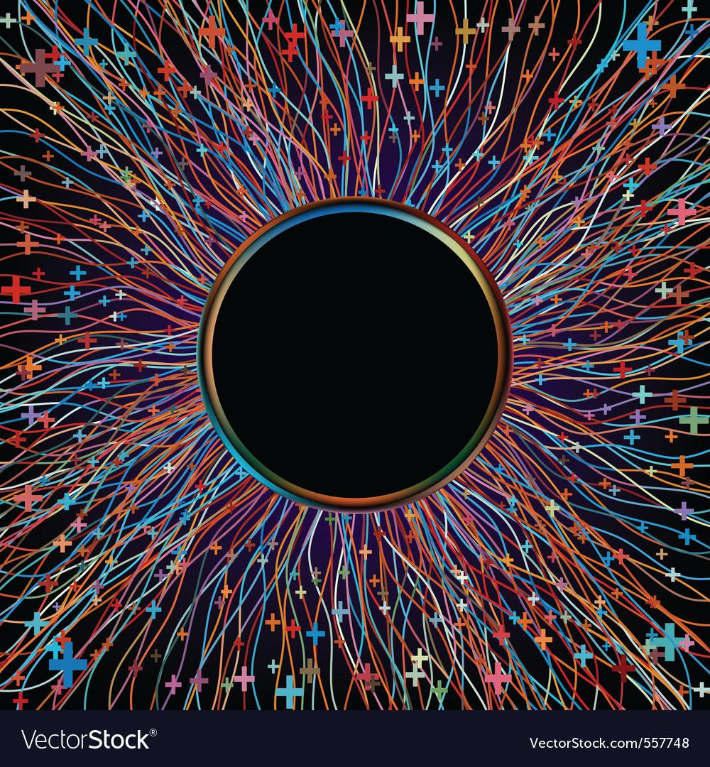 Abstract multicolor beams vector   Price: 1 Credit (USD $1)