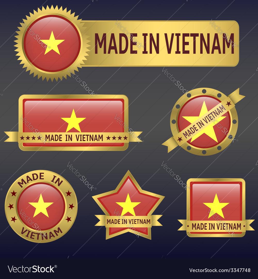 Made in vietnam vector   Price: 3 Credit (USD $3)