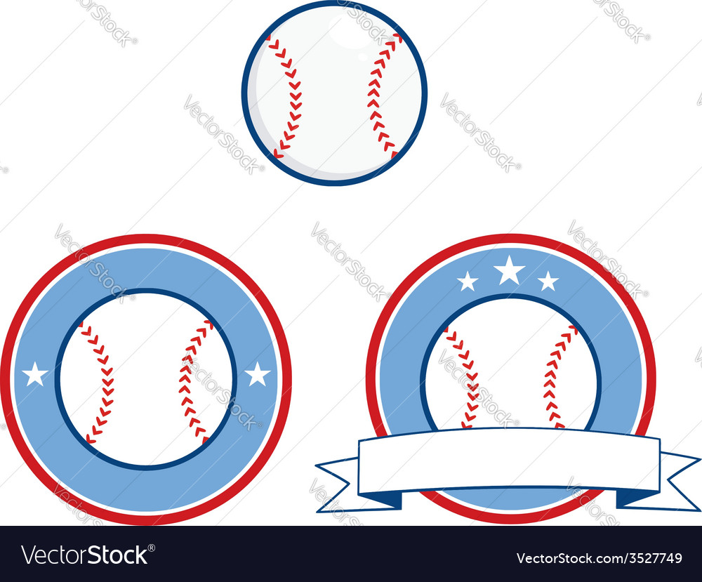 Baseball design elements vector | Price: 1 Credit (USD $1)