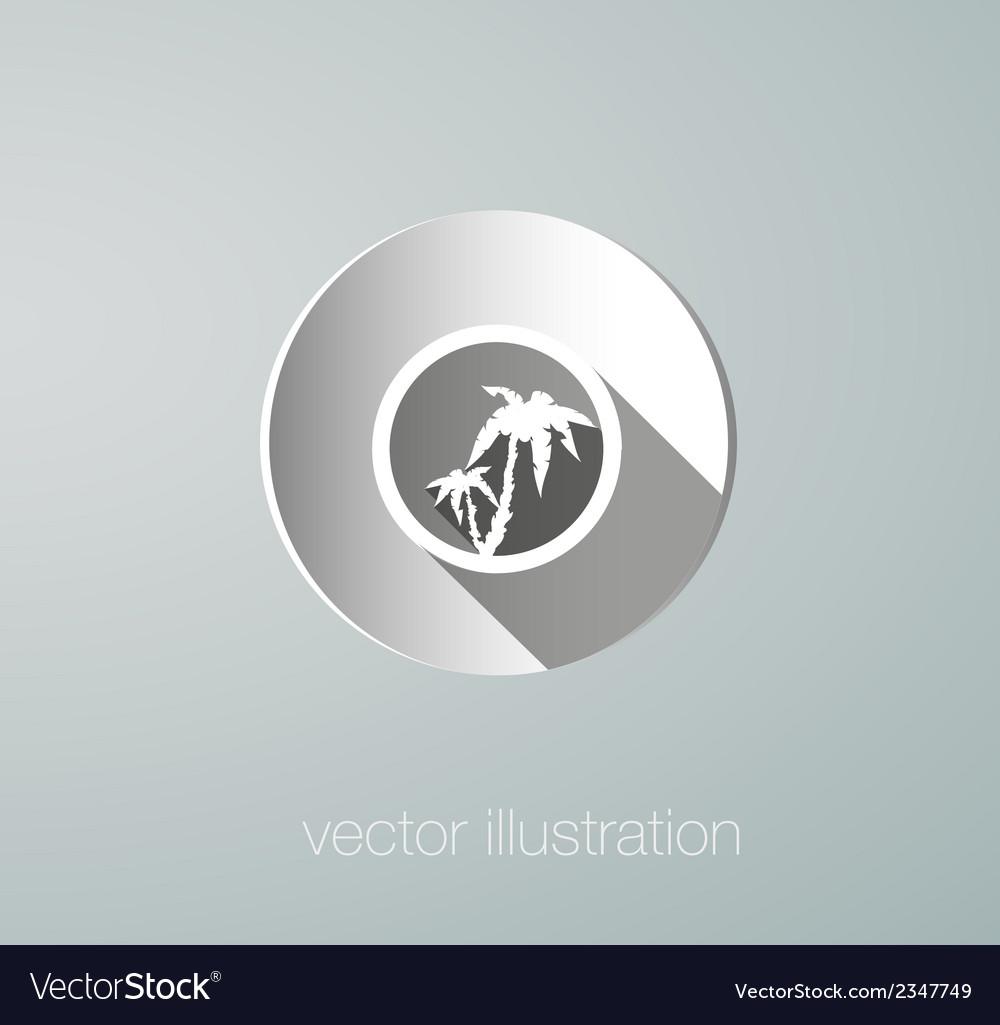 Paper icon palms vector   Price: 1 Credit (USD $1)