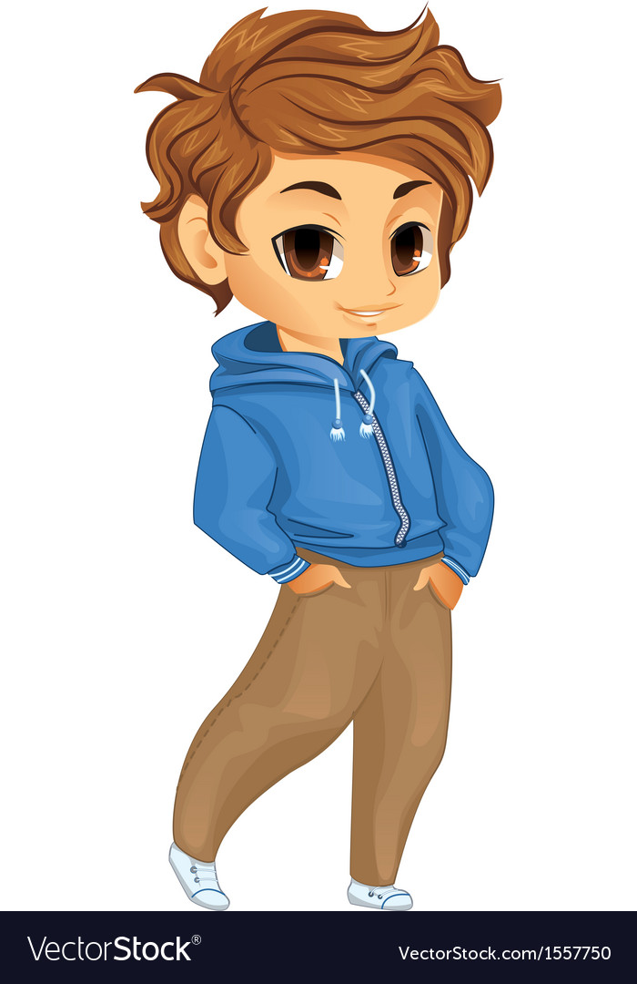 Cute little boy vector | Price: 3 Credit (USD $3)