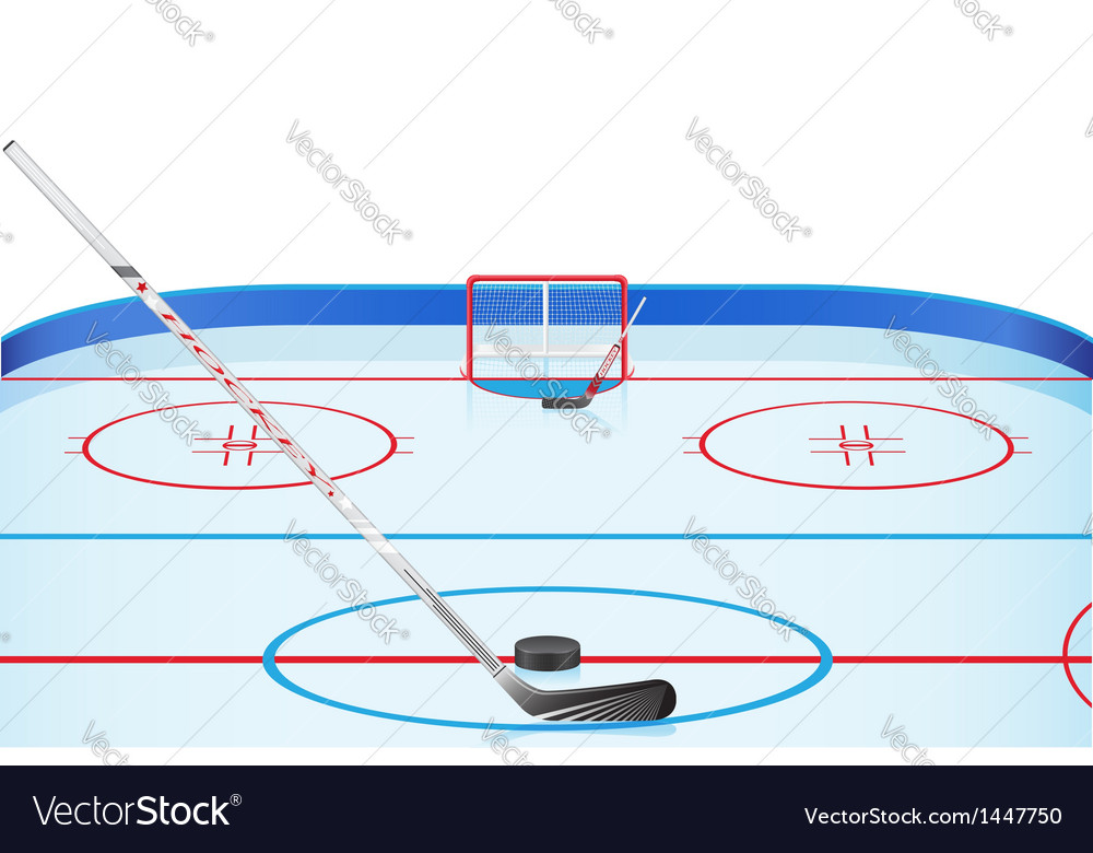 Hockey stadium vector | Price: 1 Credit (USD $1)