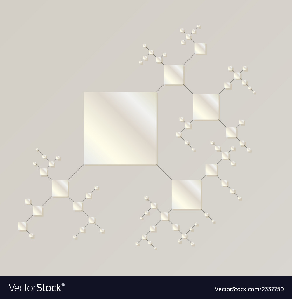 Map of the silver squares vector | Price: 1 Credit (USD $1)