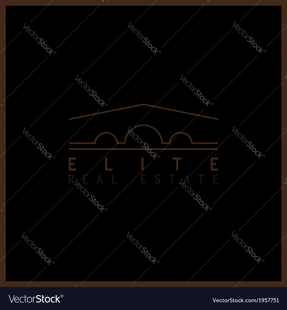 Elite real estate vector | Price: 1 Credit (USD $1)