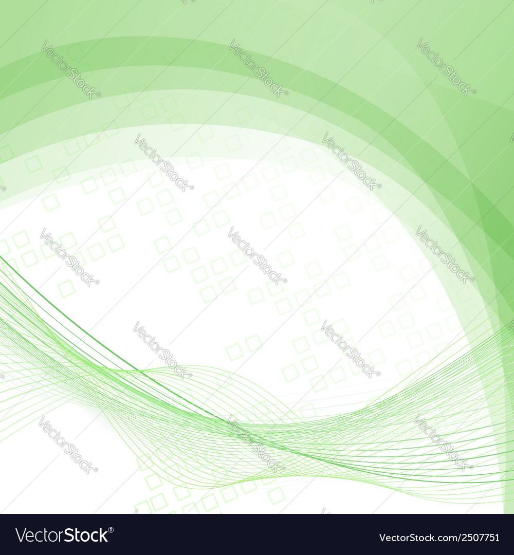 Green swoosh lines folder abstraction template vector | Price: 1 Credit (USD $1)