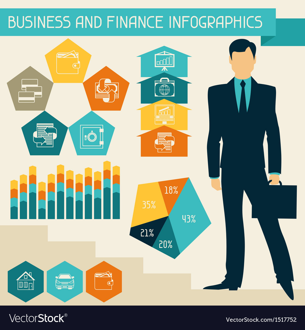 Business and finance infographics vector | Price: 3 Credit (USD $3)