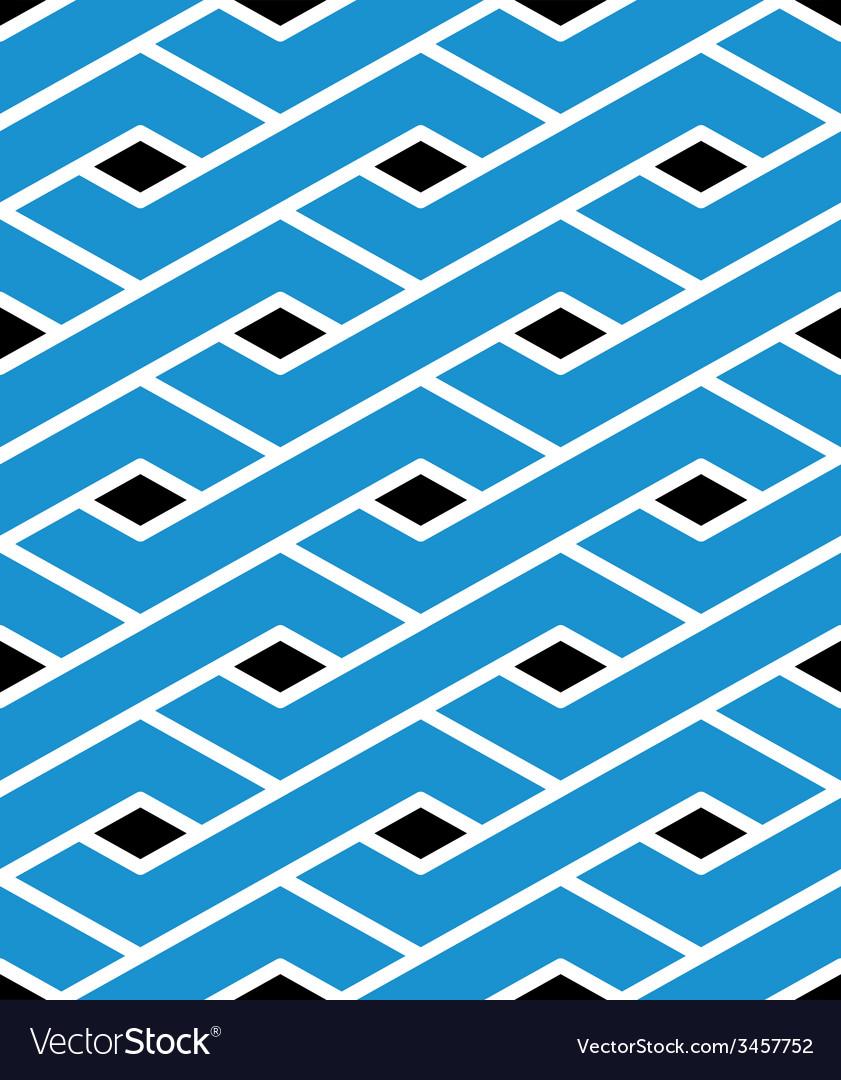 Modern zigzag bright geometric seamless pattern vector | Price: 1 Credit (USD $1)