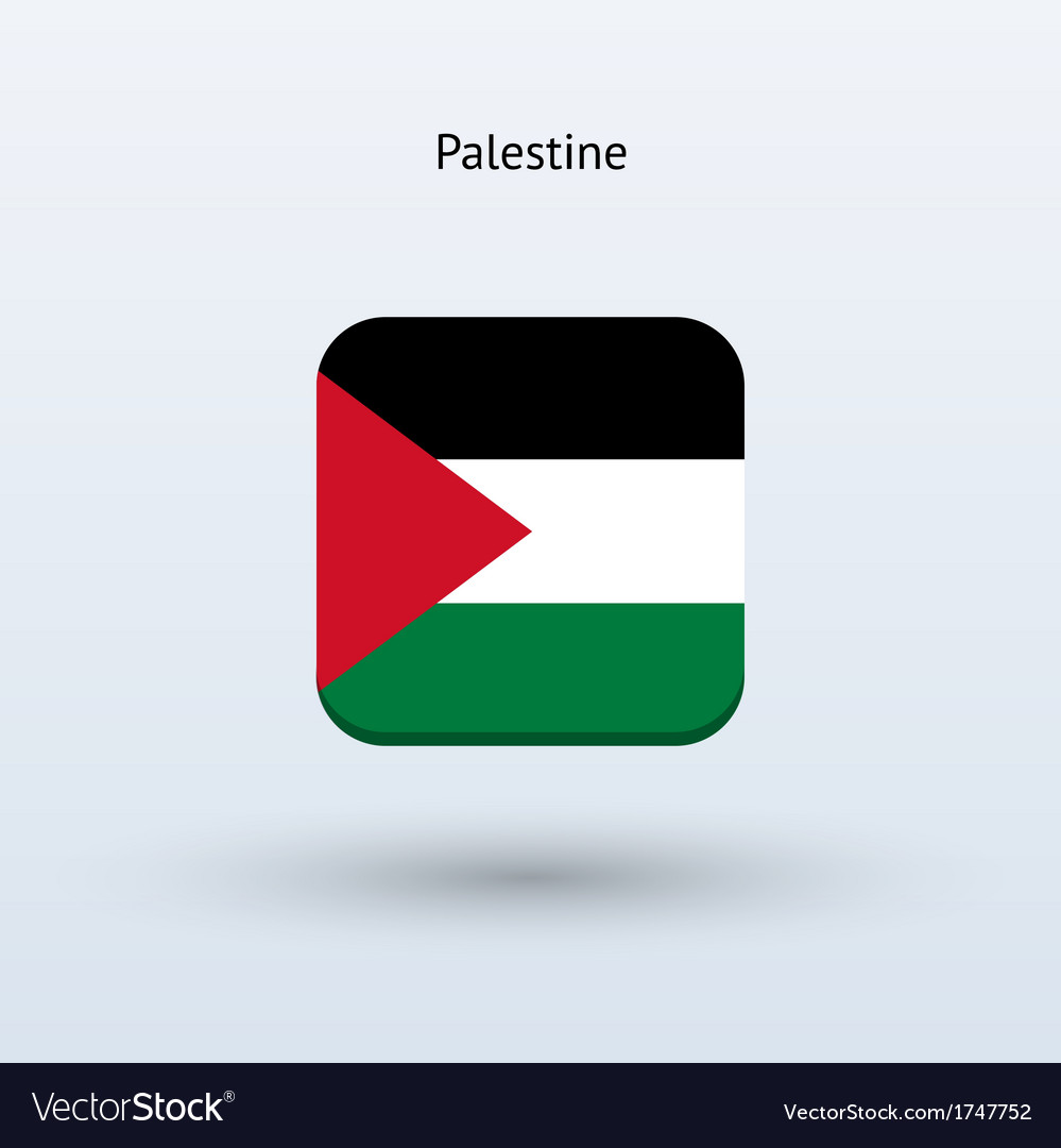 Palestine flag icon vector | Price: 1 Credit (USD $1)