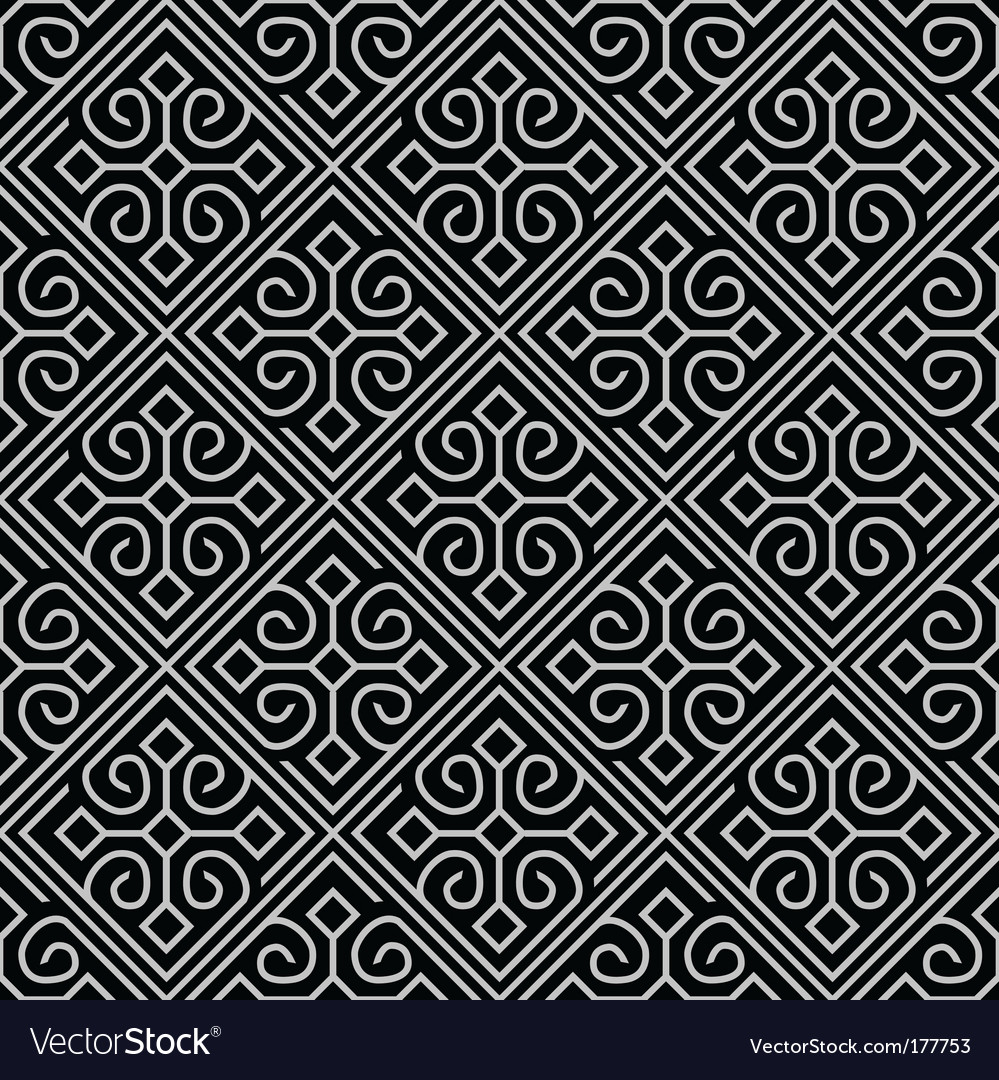 Tile pattern vector | Price: 1 Credit (USD $1)