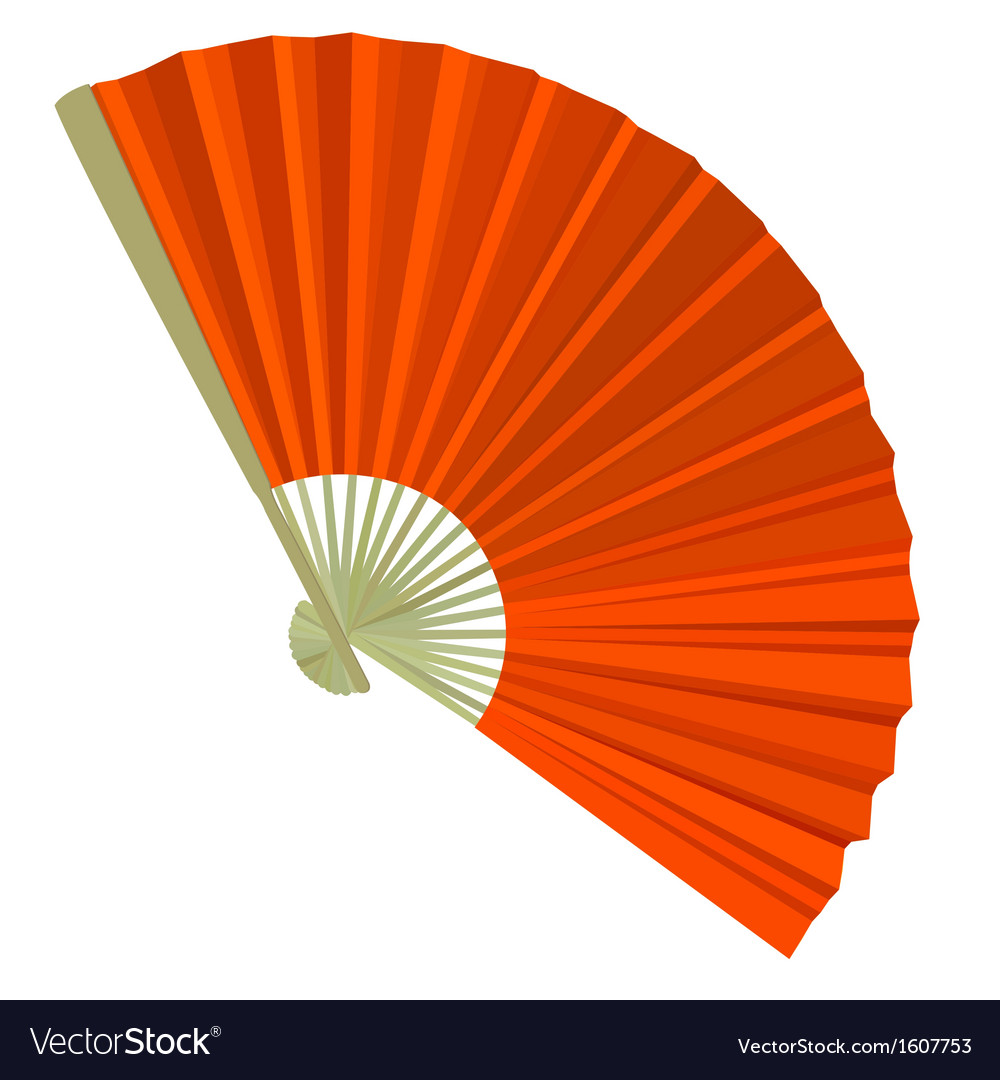 Traditional folding fans vector | Price: 1 Credit (USD $1)