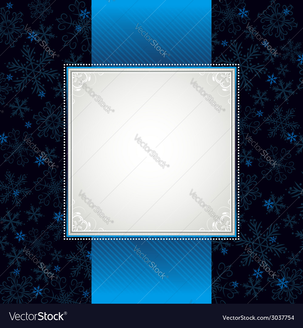 Blue christmas background vector   Price: 1 Credit (USD $1)