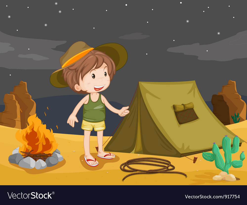 Camper vector | Price: 3 Credit (USD $3)