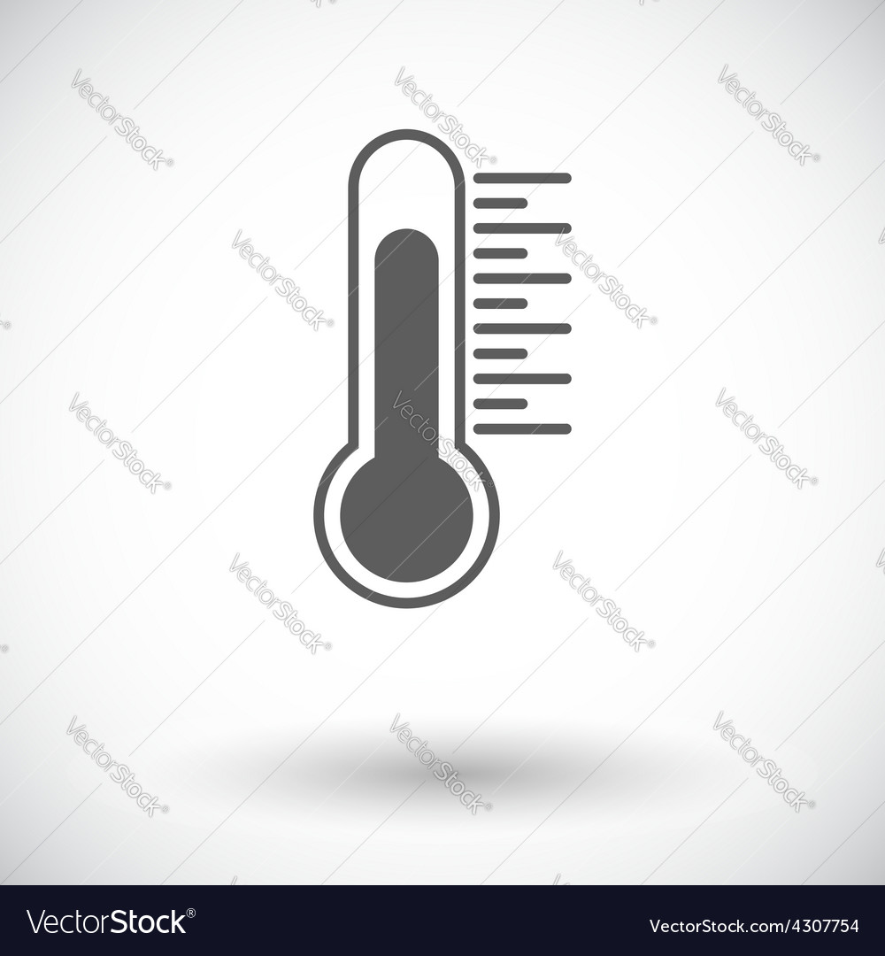 Mometer icon vector