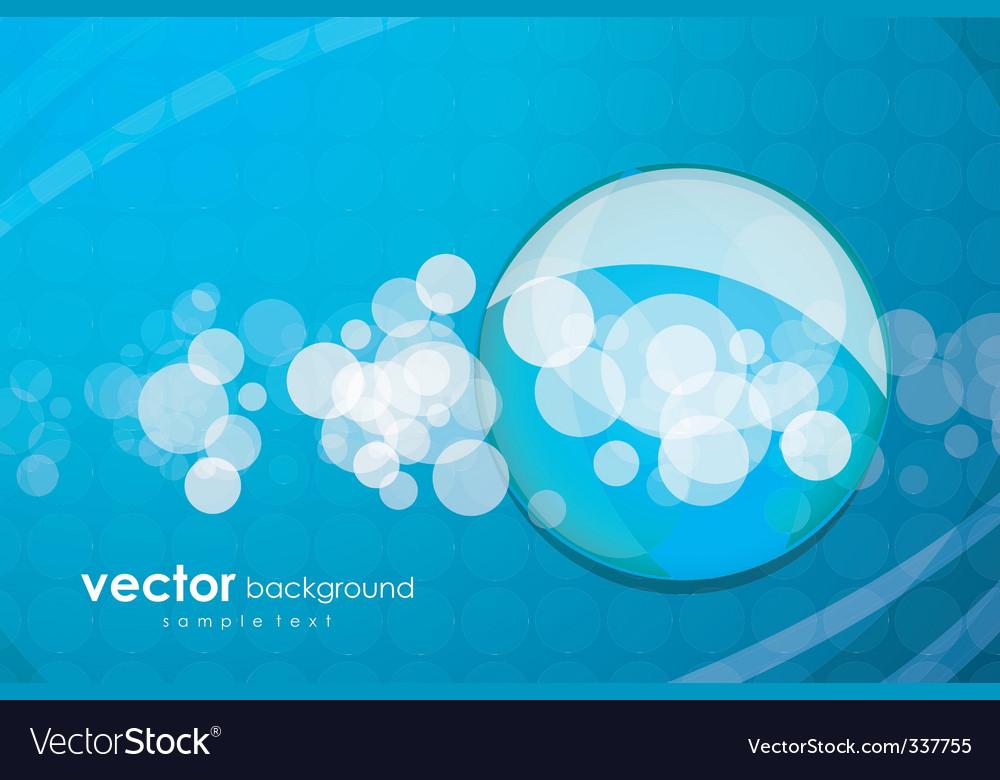 Aqua elements background vector | Price: 1 Credit (USD $1)