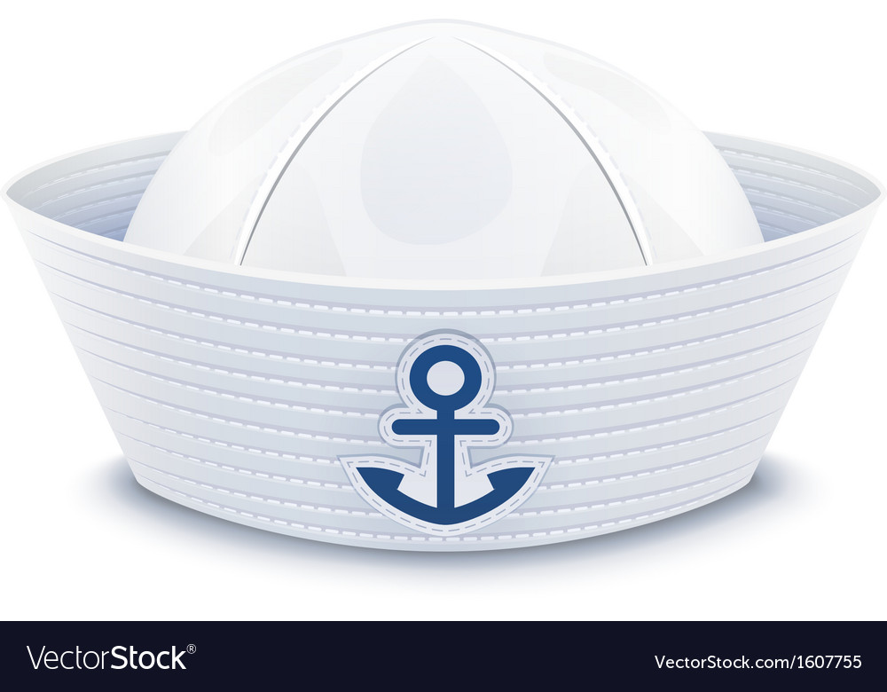 Sailor cap vector | Price: 1 Credit (USD $1)