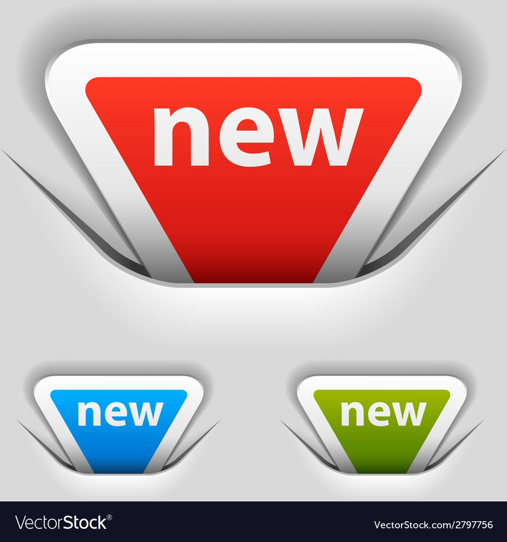 Attached new triangle labels vector | Price: 1 Credit (USD $1)